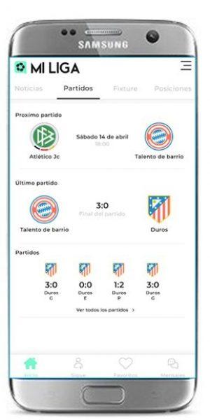partidos app